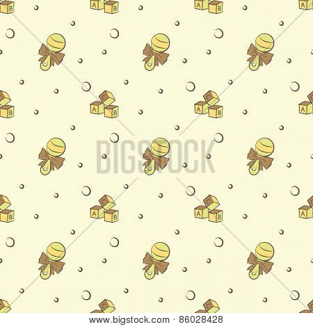 rattle and cubes pattern