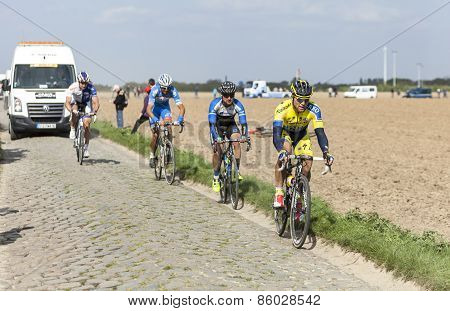 Michal Kolar - Paris Roubaix 2014