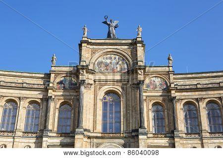 Part Of The Famous Bayerischer Landtag - Maximilianeum