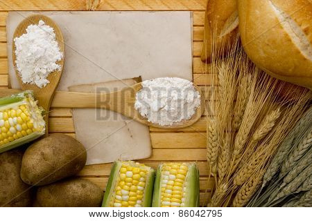 Flour And Starch