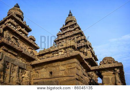 Ancient Shore temple  in  Mahabalipuram