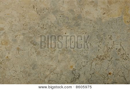 Surface Of The Travertine. Grey And Beige Shades.