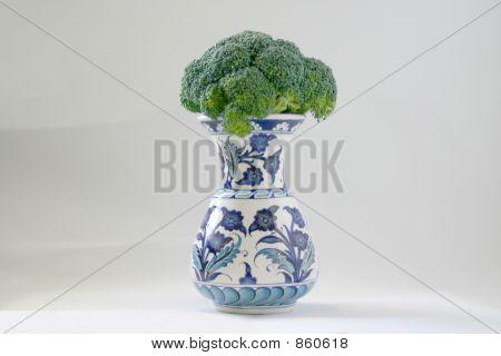 Brocolli in Vase