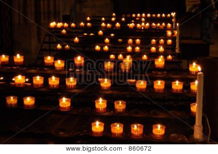 French Rosary Candles