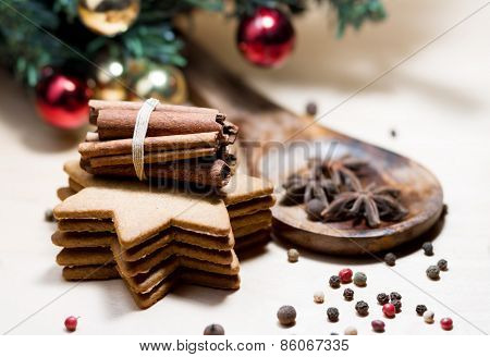 Ginger Cookies And Spices