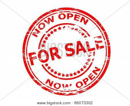 Now Open For Sale