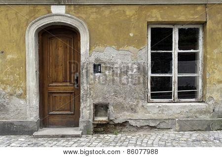 Old House Facade