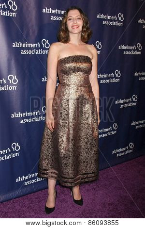 LOS ANGELES - MAR 18:  Lauren Miller Rogan at the 23rd Annual A Night at Sardi's to benefit the Alzheimer's Association at the Beverly Hilton Hotel on March 18, 2015 in Beverly Hills, CA