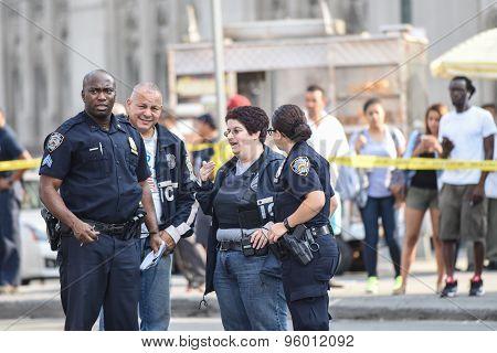 NYPD investigators
