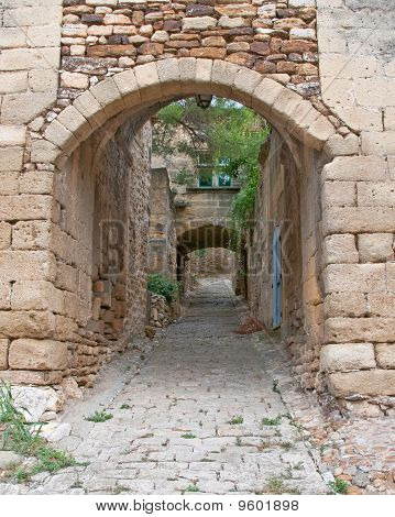 Arched Passageway from Yesteryears