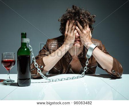 Alcoholic In Despair