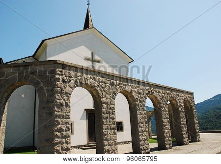 Italian Charnal House At Kobarid