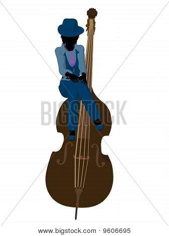 African American Jazz Illustration