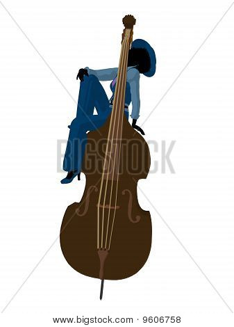 African American Jazz Illustration