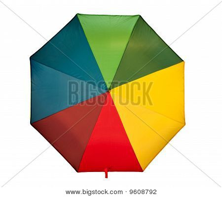 Umbrella Seen From Above