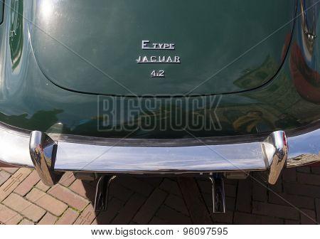 Jaguar E-type Logo