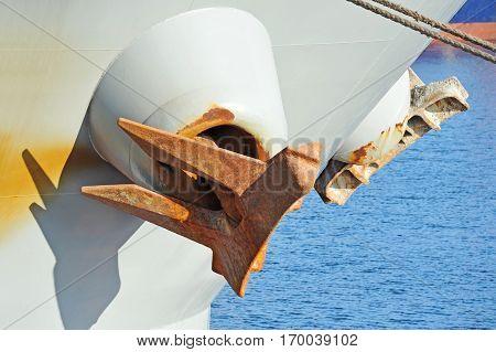 Anchor On Ship