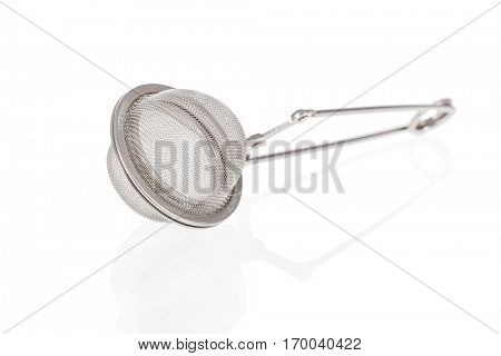 Tea infuser isolated on a white background