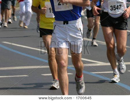 International Marathon Runner