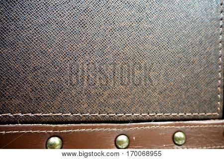 Leather Casket