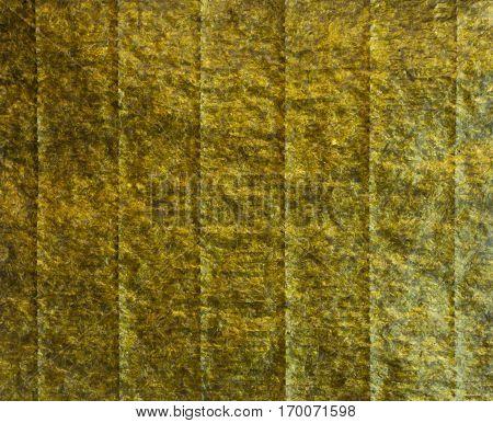 Green Nori Seaweed Sheet Textute