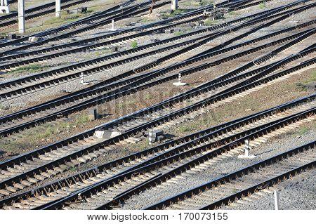 Metals On Rail Track