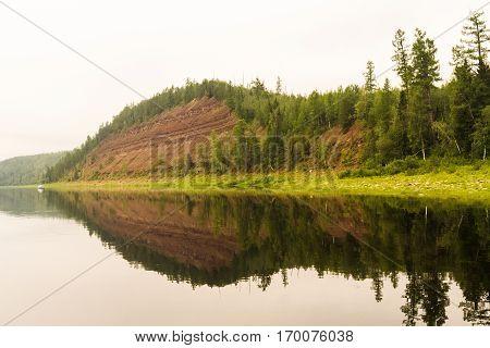 Right tributary of the Yenisei. Krasnoyarsk Territory.
