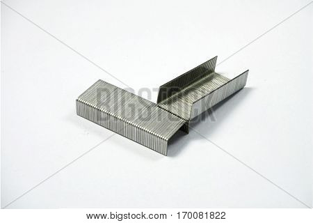 The Silver Staples in the solid blackground