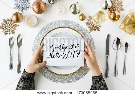Good bye 2016 Hello 2017 New Year