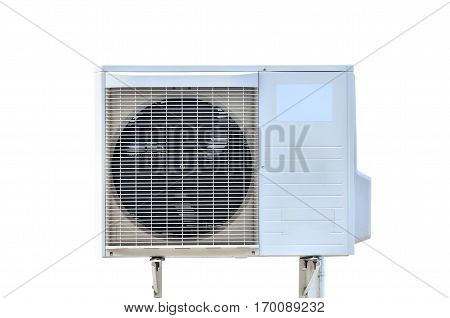 air conditioning fan ventilation on white background