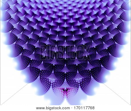 A mesmerizing and repeating fractal pattern similar to a large necklace.