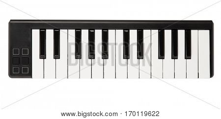 Electronic midi keyboard