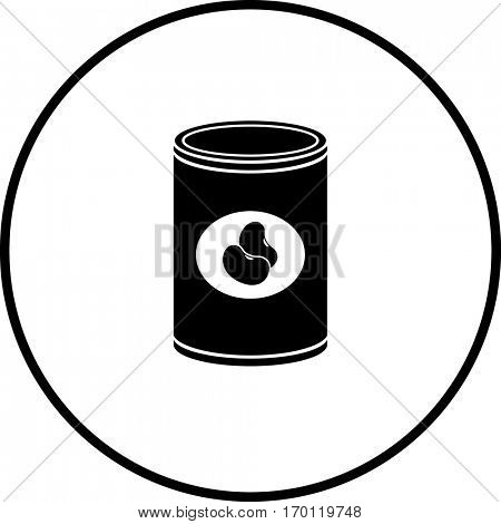 canned beans symbol