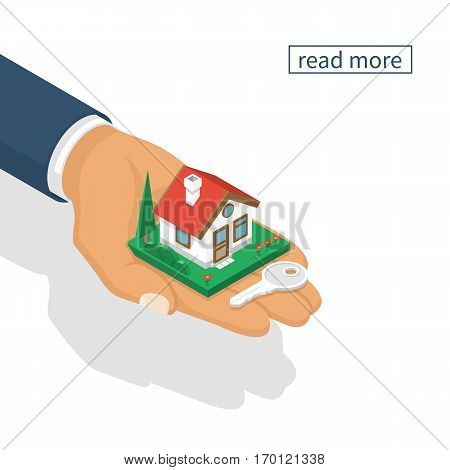 Hand Giving House