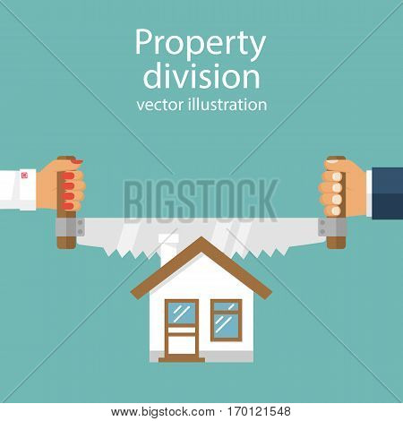 Property Division. Vector