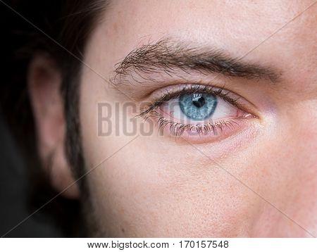 Goregeous Closeup Shot Of Human Eyes
