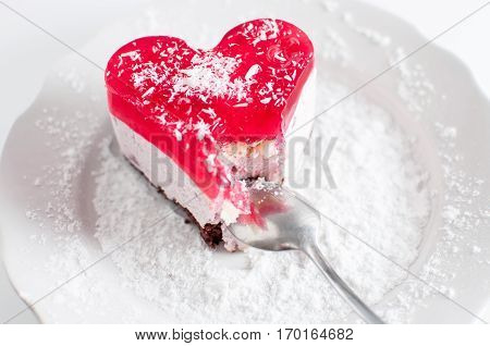 Pastry Heart With Jelly