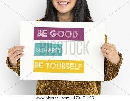 Good Happy Yourself Attitude Best Cheerful Enjoy