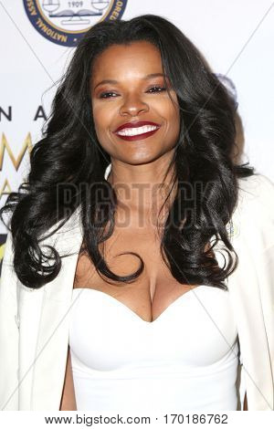 LOS ANGELES - JAN 28:  Keesha Sharp at the 48th NAACP Image Awards Nominees' Luncheon at Loews Hollywood Hotel on January 28, 2017 in Los Angeles, CA