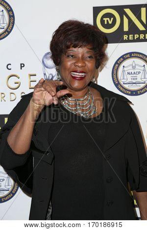 LOS ANGELES - JAN 28:  Loretta Devine at the 48th NAACP Image Awards Nominees' Luncheon at Loews Hollywood Hotel on January 28, 2017 in Los Angeles, CA
