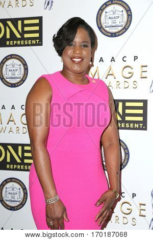 LOS ANGELES - JAN 28:  Roslyn M. Brock at the 48th NAACP Image Awards Nominees' Luncheon at Loews Hollywood Hotel on January 28, 2017 in Los Angeles, CA