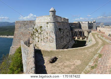 El Morro Castle At Santiago De Cuba