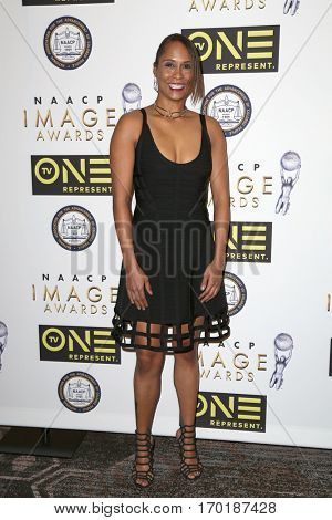 LOS ANGELES - JAN 28:  Akela Cooper at the 48th NAACP Image Awards Nominees' Luncheon at Loews Hollywood Hotel on January 28, 2017 in Los Angeles, CA