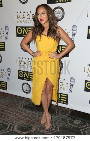 LOS ANGELES - JAN 28:  Adrienne Eliza Houghton at the 48th NAACP Image Awards Nominees' Luncheon at Loews Hollywood Hotel on January 28, 2017 in Los Angeles, CA