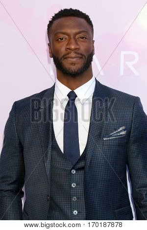 LOS ANGELES - JAN 28:  Aldis Hodge at the Variety's Celebratory Brunch Event For Awards Nominees at  Cecconi's on January 28, 2017 in West Hollywood, CA