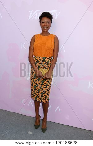 LOS ANGELES - JAN 28:  Samira Wiley at the Variety's Celebratory Brunch Event For Awards Nominees at  Cecconi's on January 28, 2017 in West Hollywood, CA