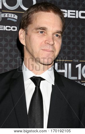 LOS ANGELES - JAN 27:  Luc Robitaille at the NHL 100 Gala at Microsoft Theater on January 27, 2017 in Los Angeles, CA