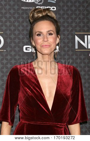 LOS ANGELES - JAN 27:  Keltie Knight at the NHL 100 Gala at Microsoft Theater on January 27, 2017 in Los Angeles, CA