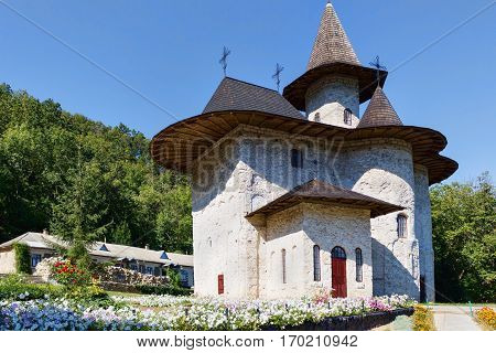 Women's orthodox monastery near rudi village at the north of republic of moldova