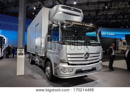 2017 Mercedes-benz Atego 1630 L
